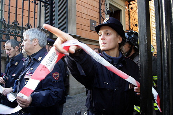 Parcel Bomb Explodes At Swiss Embassy In Rome
