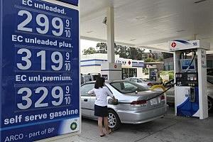 Price Of Gas Drops As Oil Prices Decrease On European Debt Worries