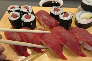 Yellowfin Tuna Sushi