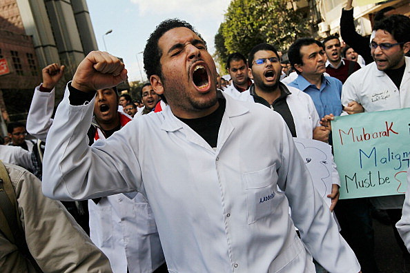 Anti-Mubarak Protesters Move Protests out of Tahrir Square In Cairo