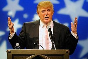Donald Trump Speaks To GOP Women's Groups
