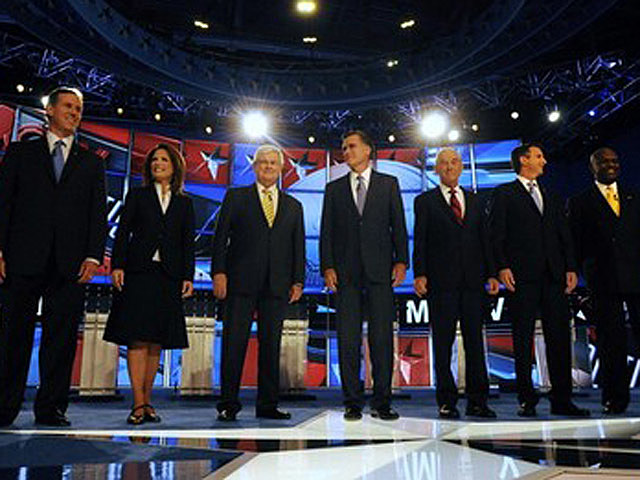 Candidates Attend First GOP Primary Debate Of 2012 Presidential Race