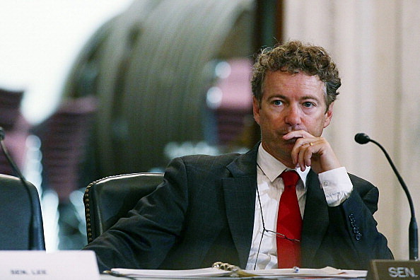 Sen. Rand Paul Host Roundtable With Gibson Guitar CEO