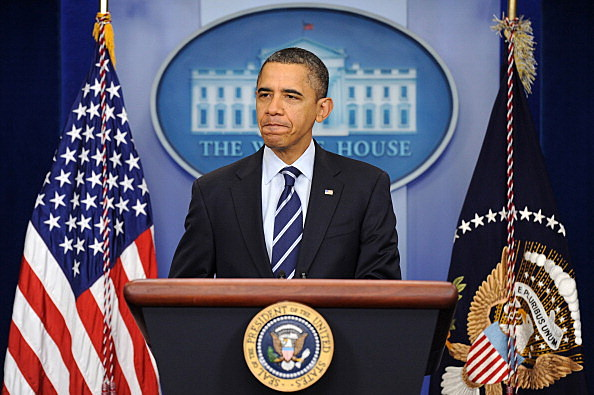 President Obama Delivers Statement On Payroll Tax Cut Extension Bill