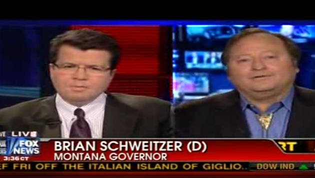 brian schweitzer on Fox News