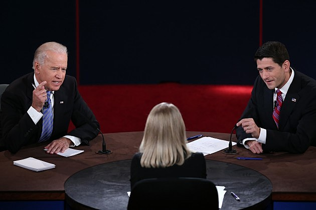 Paul Ryan and Joe Biden - 2012 Vice Presidential Debate