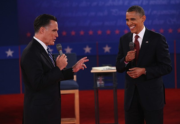President Obama and Governor Romney square off in debate number two.