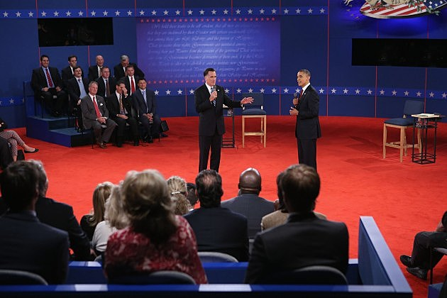 Presidential Candidates prepare for final debate.
