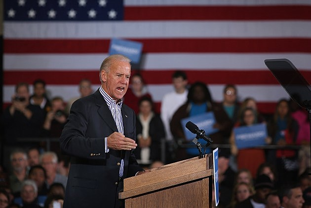 Joe Biden Campaigns In Wisconsin
