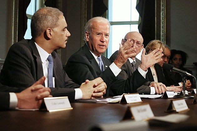 Biden Meets With Victims' Groups And Gun Safety Organizations