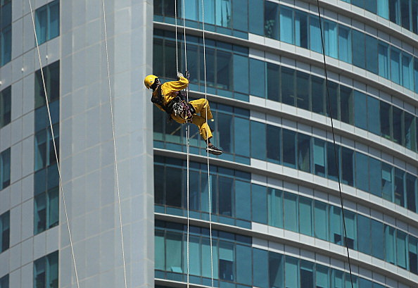 The Nepalese Window Washers Of Doha