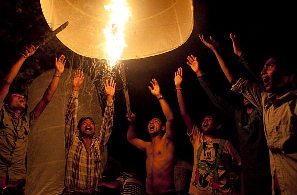 Ramu Buddhists Celebrate Annual Festival Probarona Purnima