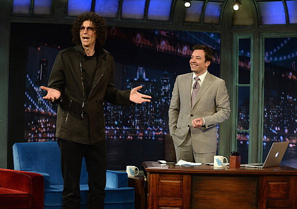 """Howard Stern Visits """"Late Night With Jimmy Fallon"""""""