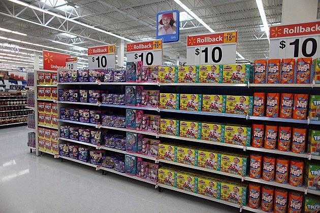 Walmart Toys Department : I love christmas but not yet
