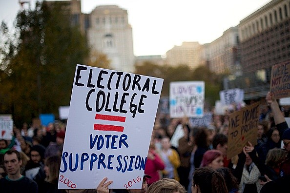 Majority rules? Not when the Electoral College intervenes