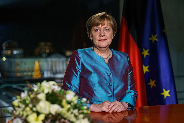 Angela Merkel Delivers Her New Year's Speech