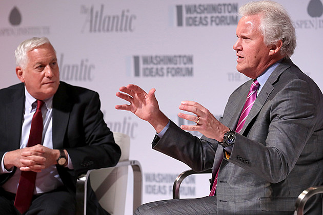 Business Leaders And Government Officials Attend Washington Ideas Forum