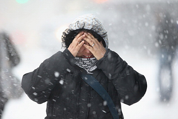 Winter Storm Dumps More Snow On New York City