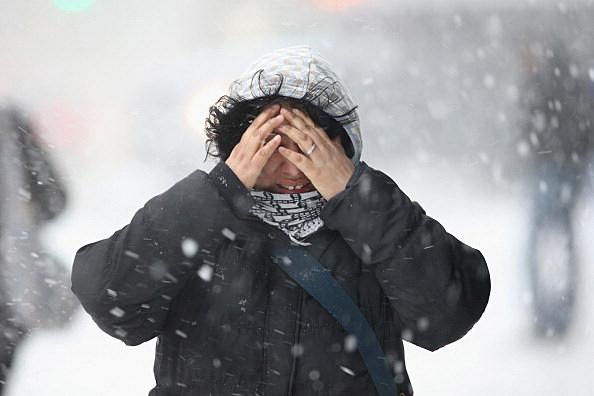 Winter Storm Dumps More Snow On New York City