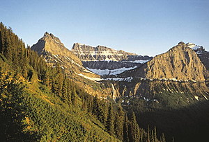 USA, Montana, Glacier National Park (UNESCO World Heritage List, 1995), vicinity of Logan Pass